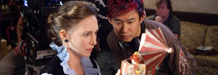 James Wan en el set de 'Expediente Warren'