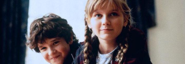 Kirsten Dunst y Bradley Pierce en 'Jumanji'