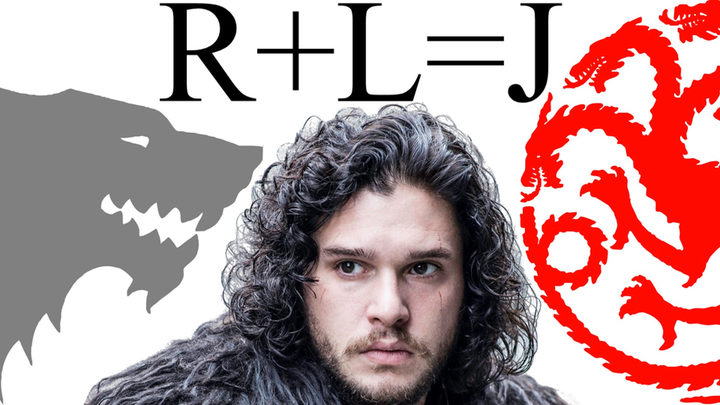 R+L=Jon Snow