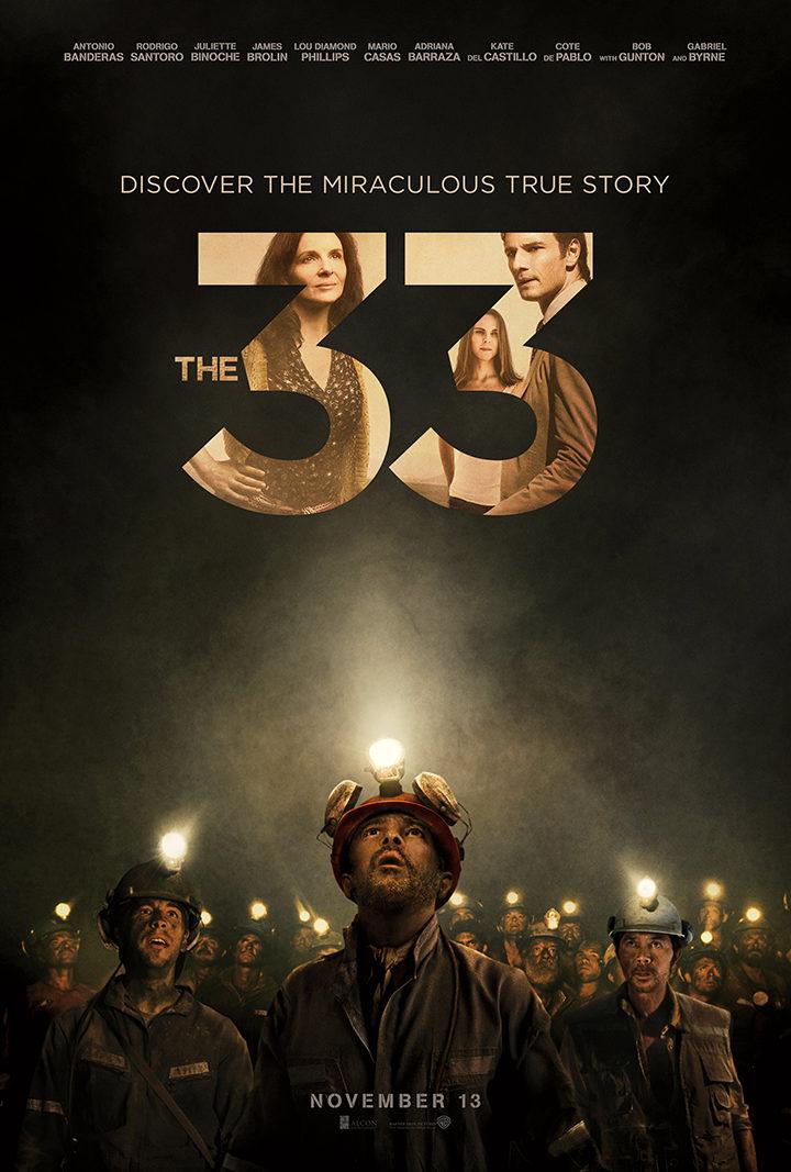 Póster oficial 'Los 33'