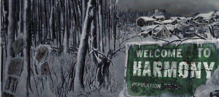 Cartel de bienvenida al pueblo donde se desarrolla la acción de 'Extinction'