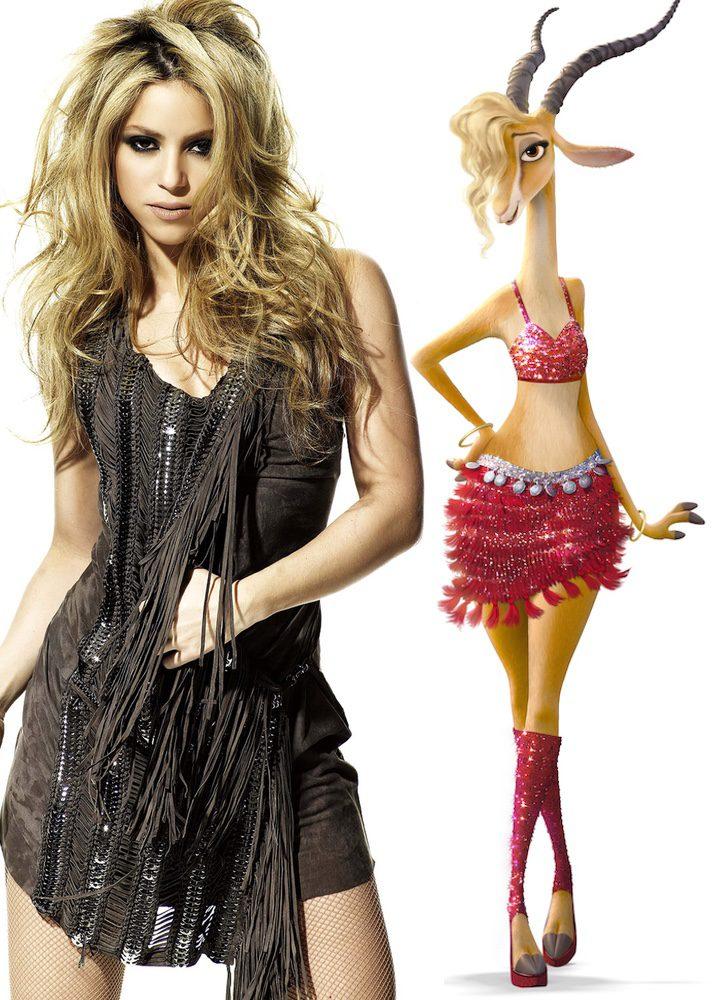 Shakira es Gazelle