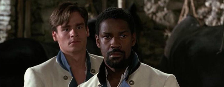 Robert Sean Leonard y Denzel Washington