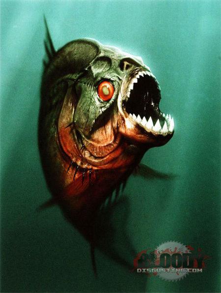 Primer concept-art de 'Piranha'