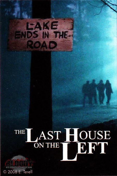 Cartel del remake de 'La última casa a la izquieda'