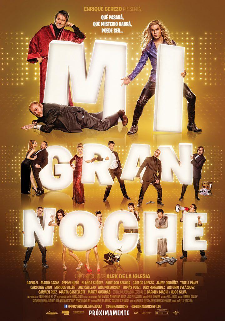 Cartel promocional de 'Mi gran noche'