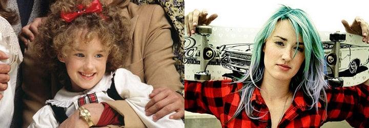 Ashley Johnson antes y ahora