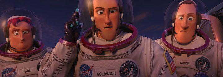 Los astronautas de 'Atrapa la bandera' listos para salir rumbo a la luna