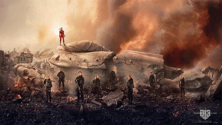 Katniss Y Los Rebeldes Destruyen El Capitolio En El Nuevo Poster De
