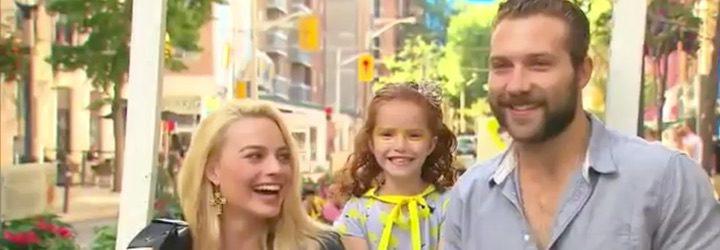 Margot Robbie y Jai Courtney