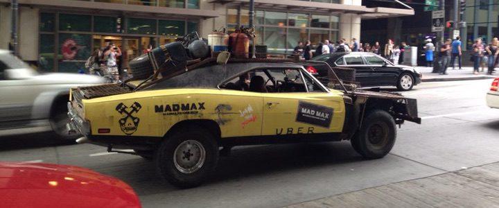 Un conductor de Uber a lo 'Mad Max'