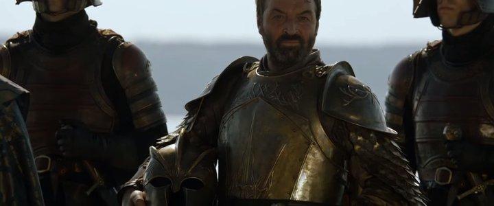 Ian Beattie da vida a Sir Meryn Trant en 'Juego de tronos'