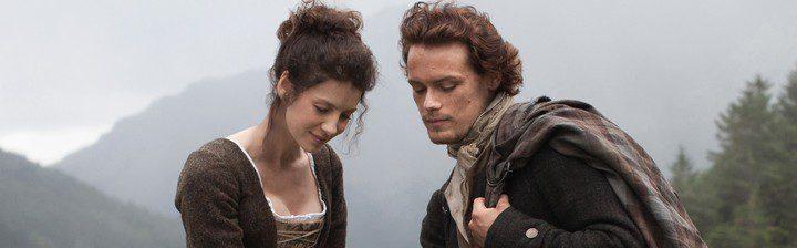 Los protagonistas de la serie de Starz 'Outlander'