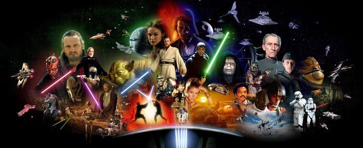 'Star Wars' al completo