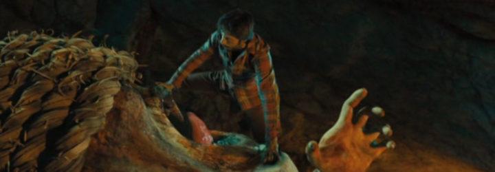 Zugarramurdi - Hugo Silva con el monstruo