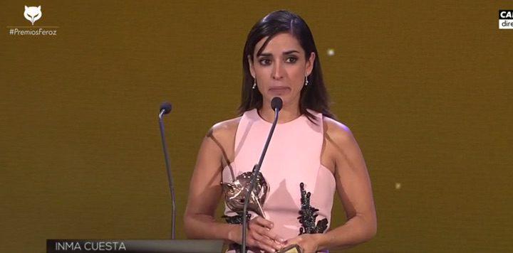 Inma Cuesta, Premio Feroz 2016 a la mejor actriz