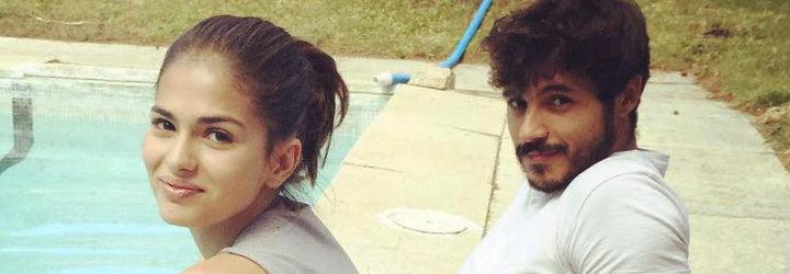 Sara Sálamo y Diego Martínez