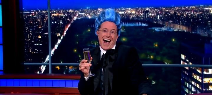 Stephen Colbert es Caesar Flickerman