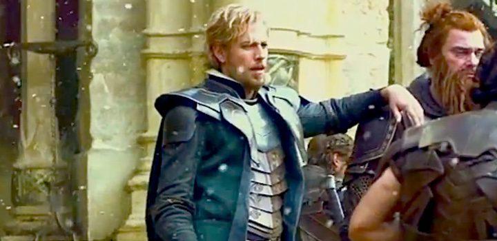 Zachary Levi como Fandral en 'Thor: Ragnarok'