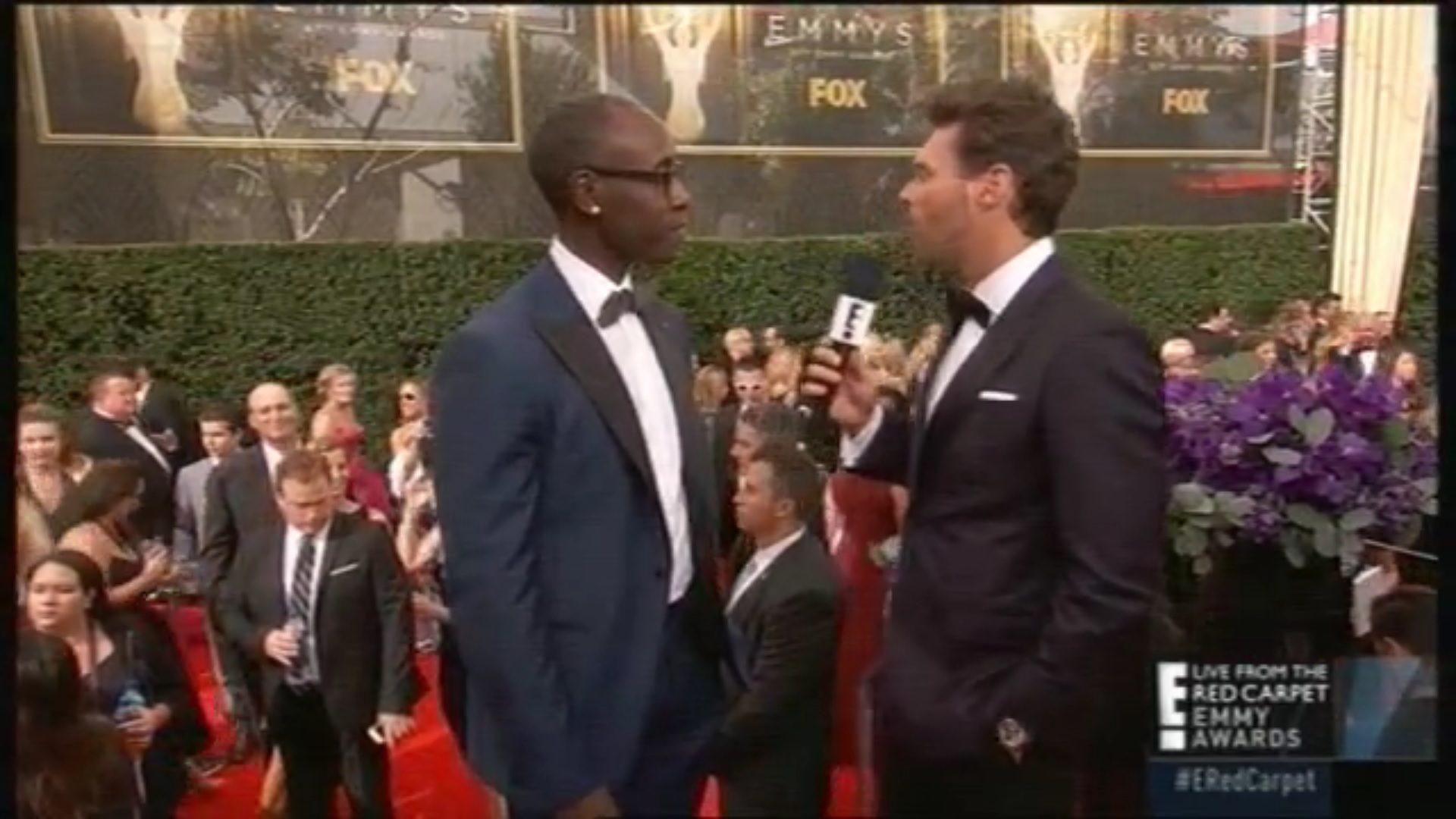 Don Cheadle en los Emmy 2015