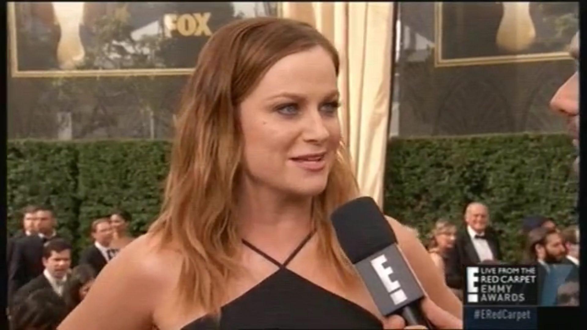 Amy Poehler en los Emmy 2015