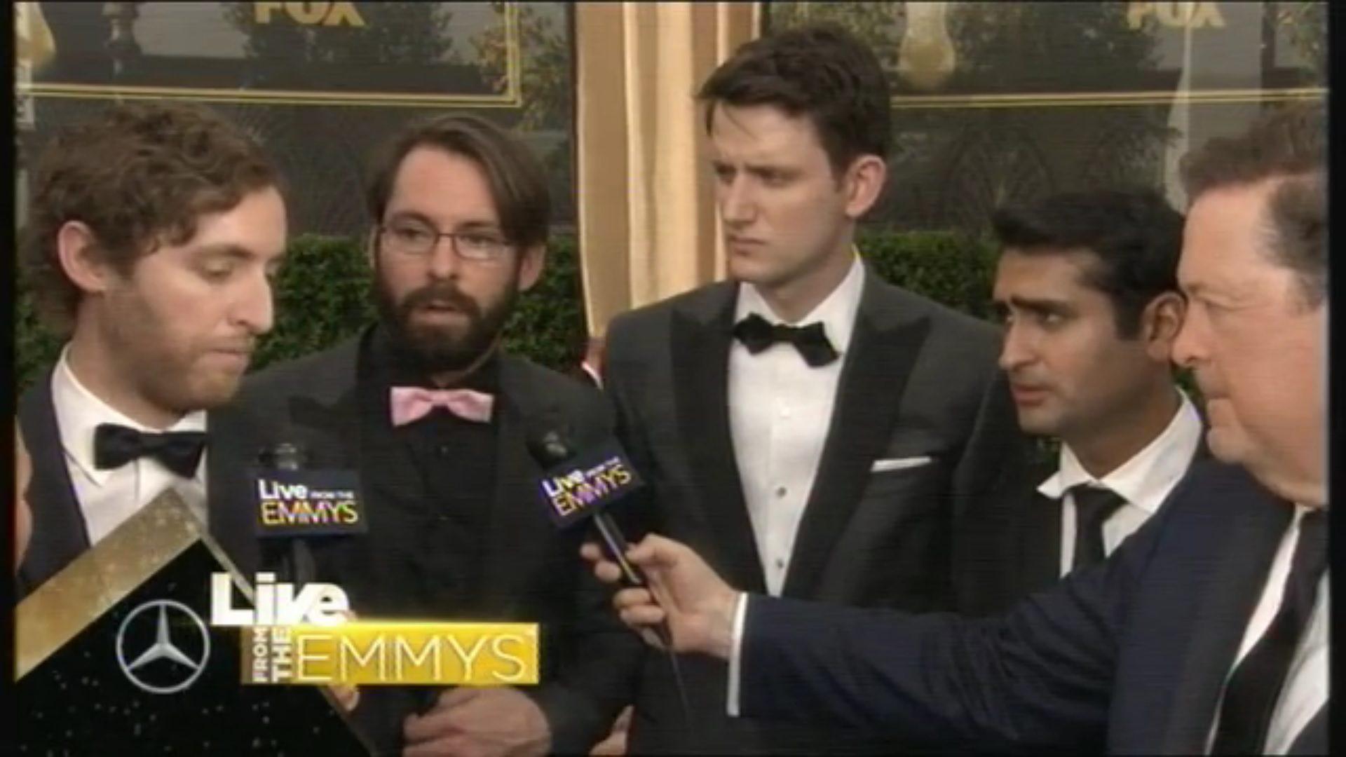 Reparto de Silicon Valley en los Emmy 2015