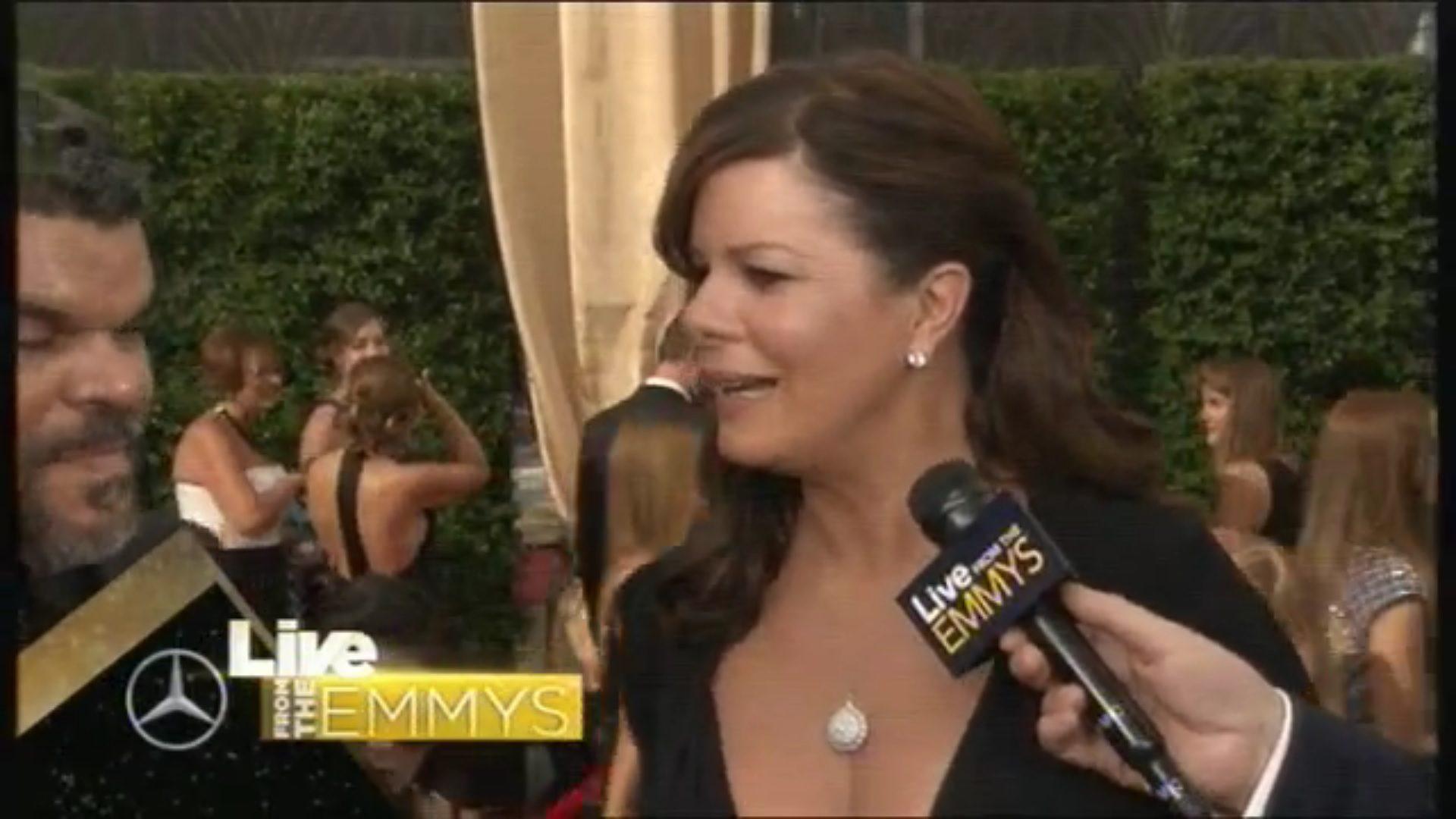Marcia Gay Harden en los Emmy 2015