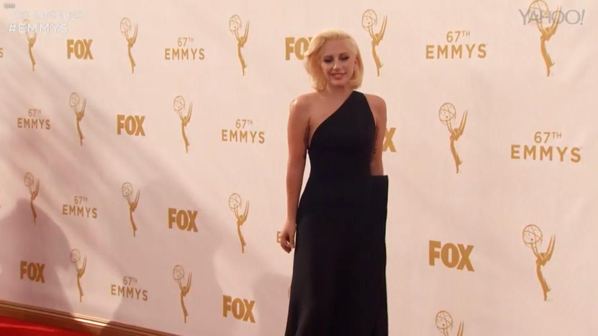Lady Gaga en los Emmy 2015