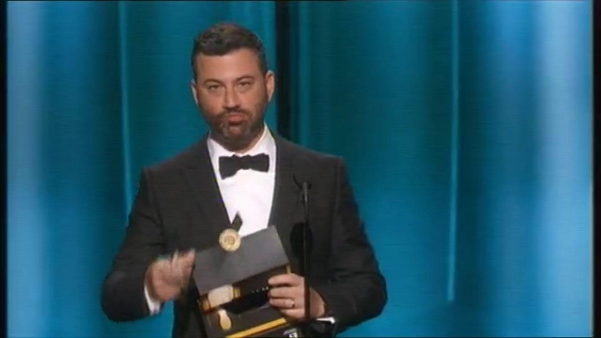 Jimmy Kimmel en los Emmy 2015