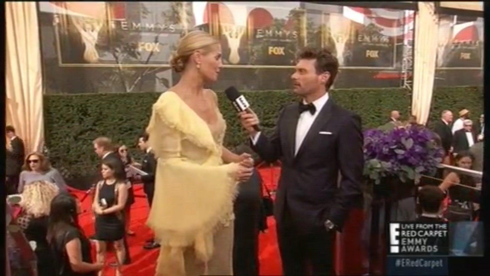 Heidi Klum en los Emmys 2015