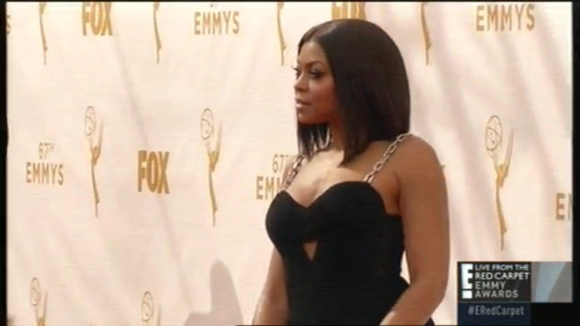 Taraji P. Henson en los Emmys 2015