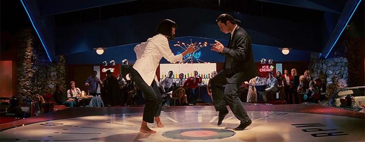 Uma Thurman y John Travolta