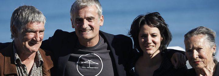 El equipo de Amama en el Festival de San Sebastián 2015