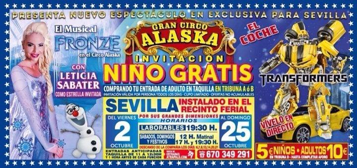 'Fronze' en el Gran Circo Alaska
