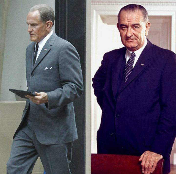Woody Harrelson como Lyndon B. Johnson