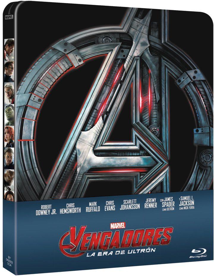 Steelbook 'Vengadores: La era de Ultron'