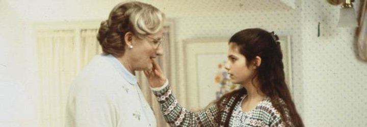 Williams y Jakub en Señora Doubtfire