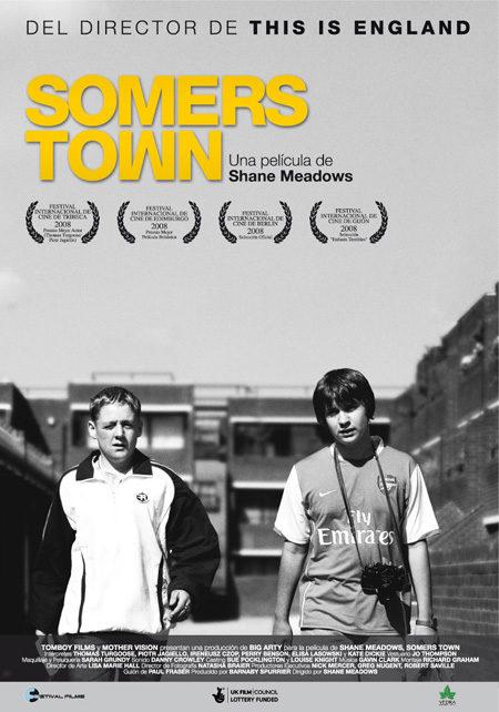 Cartel en español para 'Somers Town'