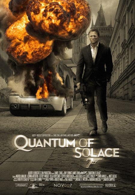 Otro póster para 'Quantum of Solace'
