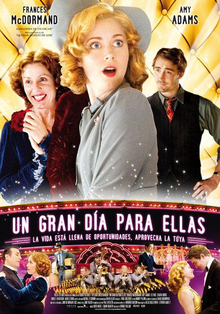 Cartel en castellano de 'Un gran día para ellas'