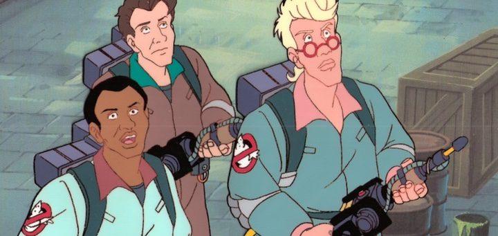 'Los Cazafantasmas' animados