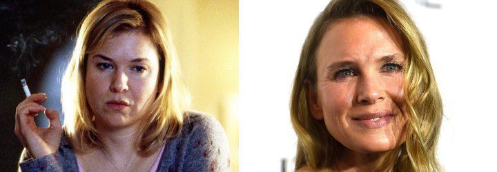 Renée Zellweger antes y ahora