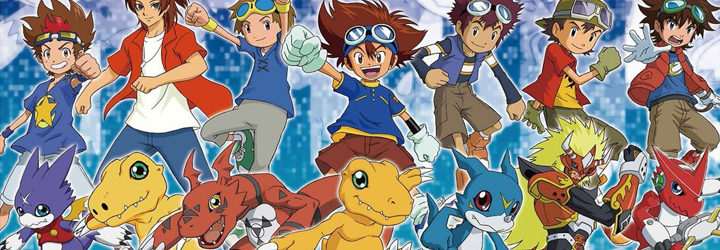 Digimon - Protagonista de cada temporada