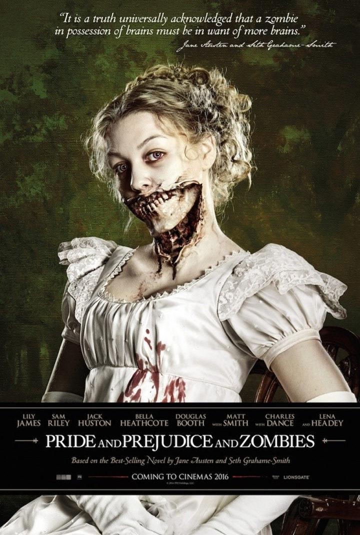 Póster de 'Orgullo y prejuicio y zombies'