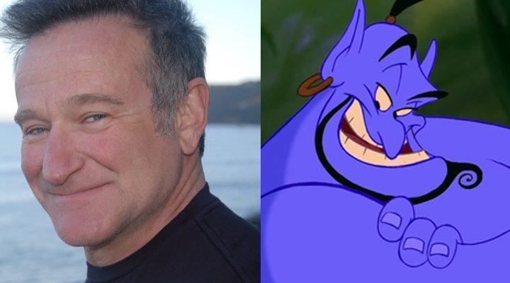 Robin Williams y el Genio de 'Aladdin'