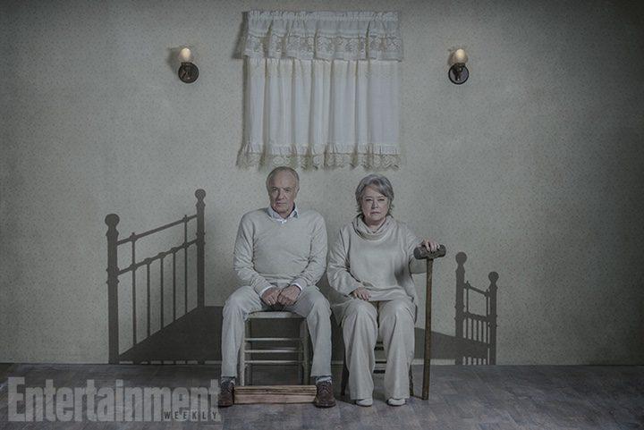 Kathy Bates y James Caan posan juntos veinticinco años después