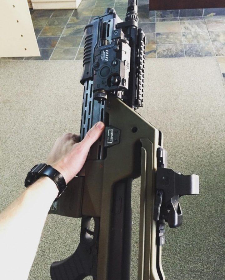 Rifle de pulsos