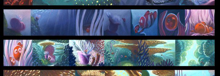 Storyboard 'Buscando a Nemo'