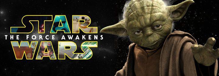 El maestro Yoda en 'Star Wars: Episodio VII - El despertar de la fuerza'