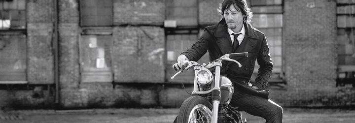 Norman Reedus en moto